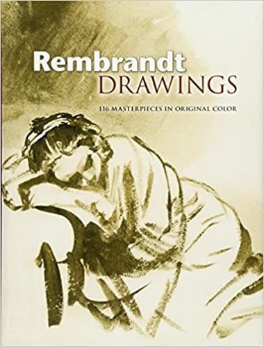 rembrandt drawings by rembrandt dover publications2007 hardcover