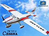 New 6 CH 2.4GHz Cessna 182 Skylane Radio Remote Control RC Airplane RTF w/ EPO Durability + With Flaps