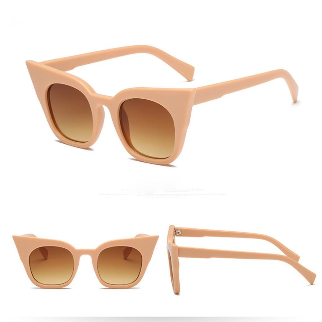 Amazon.com: Remiel tienda moda ojo de gato anteojos de sol ...