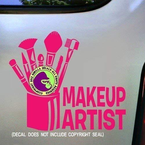Artists Gorilla - MAKE UP ARTIST Vinyl Decal Sticker C