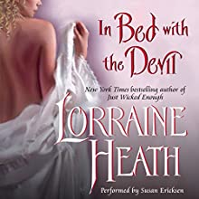 In Bed with the Devil Audiobook by Lorraine Heath Narrated by Susan Ericksen, Antony Ferguson