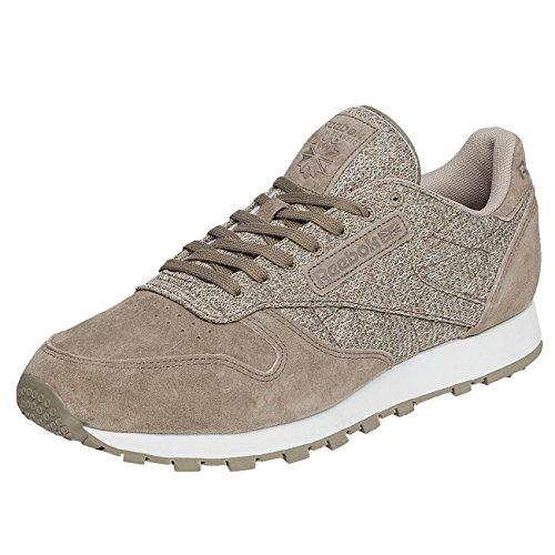 Footlocker Finishline En Línea Vista A La Venta Reebok Uomo Scarpe/Sneaker CL Leather Ksp Grigio Venta Barata De Pago Con Visa adkAXkp