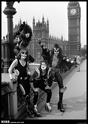 ArtIFicial Kiss London 1976 Music Poster 23.5x33 inch