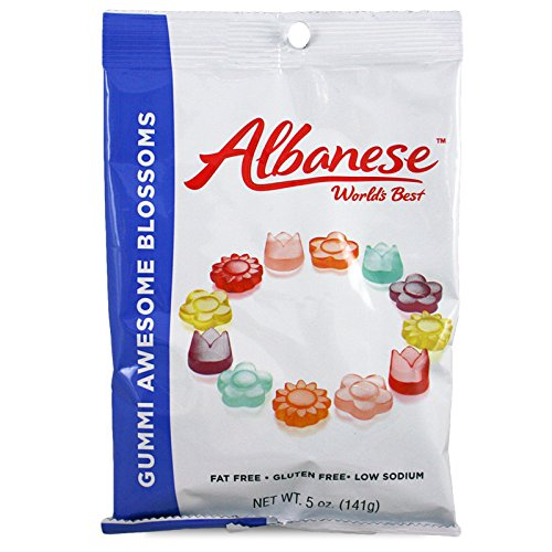 - Albanese Gummi Blossoms 5 Oz. (Pack of 3)