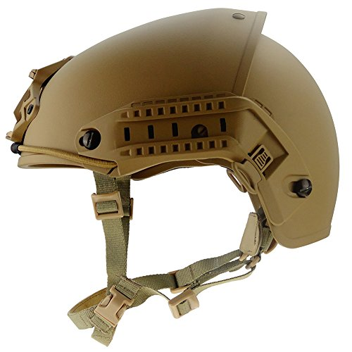Airframe Helmet (OneTigris AirFrame Style Helmet Airsoft Paintball Protective ABS Lightweight with NVG Mount)