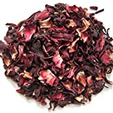Hibiscus Flowers - 100% Natural - Cut and Sifted - 1 lb - by EarthWise Aromatics