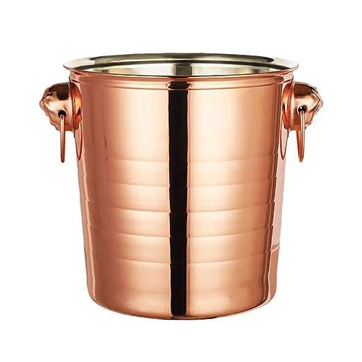 Compra YZBT-ice bucket Acero Inoxidable Cubitera, Portátil ...