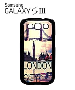 London City Big Ben Tower Brigde Mobile Cell Phone Case Samsung Galaxy S3 White