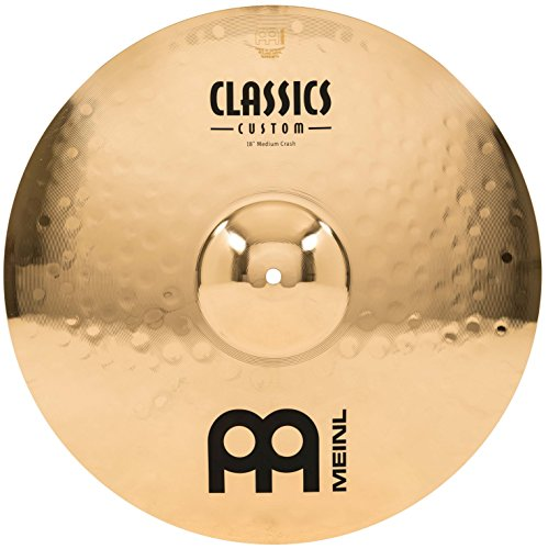 Meinl Cymbals CC18MC-B Classics Custom 18-Inch Brilliant Medium Crash (VIDEO) by Meinl Cymbals