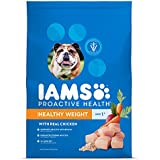 IAMS PROACTIVE HEALTH Adult Healthy Weight Dry Dog Food Chicken, 38.5 lb. Bag