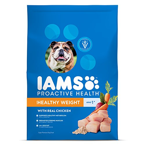 Iams Proactive Health Adult Healthy Weight Dry Dog Food Chicken,...
