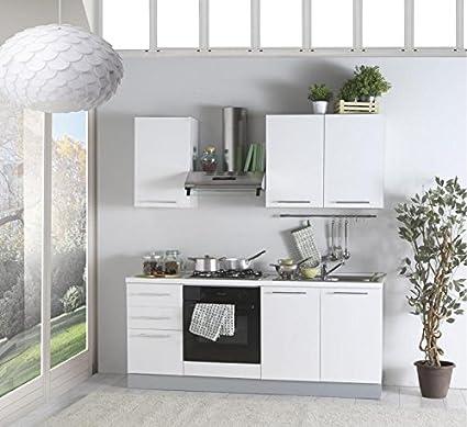 arredocasa serafino Cucina lineare MOMO 195 cm con elettrodomestici ...