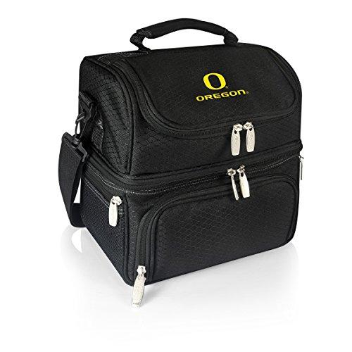 NCAA Oregon Ducks Pranzo Insulated Lunch Tote, Black