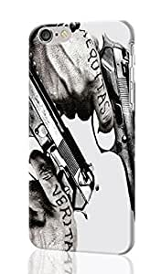 The Boondock Saints Pattern Image - Protective 3d Rough Case Cover - Hard Plastic 3D Case Cover For Apple Iphone 6 4.7 Inch