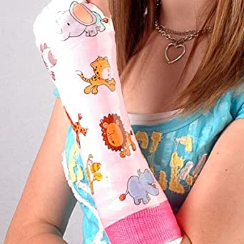 Shrinkable Skins Jungle Animals Cast Cover - FDA Approved, Latex-free Material - Helps Keep the Cast Clean - Breathable - 6 Exclusive Designs - Cheaper than Casttoo - Compatible with Xerosox and All Waterproof Cast Covers - Perfect for Broken Arms - Broken Arm Cast Cover