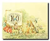 Celebrating 100 Years of the Tale of Peter Rabbit Beatrix Potter Kids Room Art Print Poster (16x20)