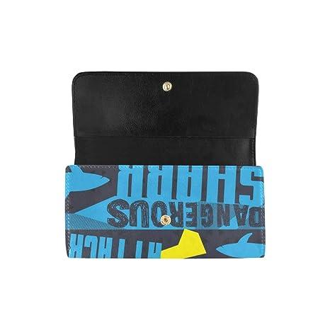 Único Personalizado Abstracto Tiburones Grunge Mujeres ...