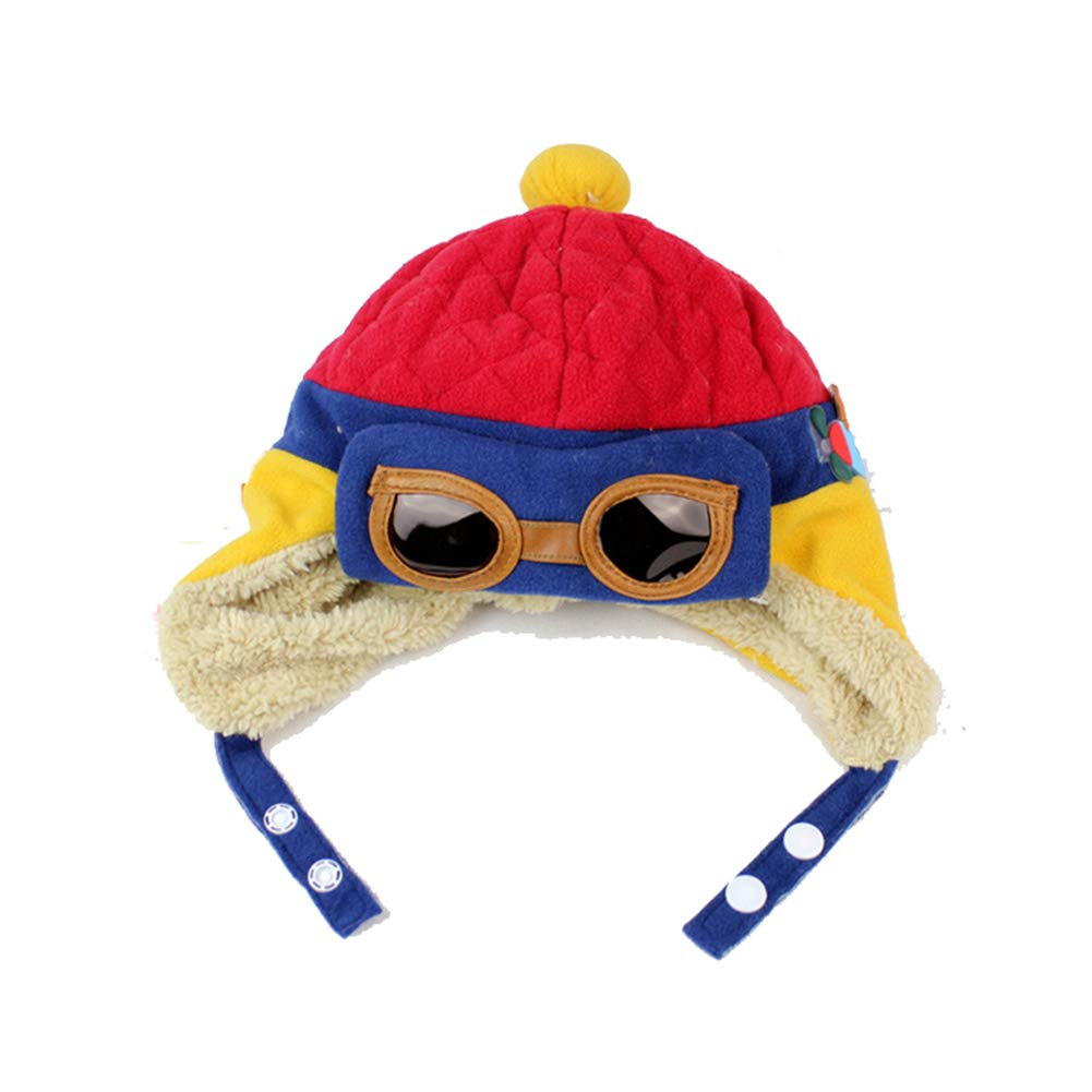 5cdd49569a9 Scrox 1Pcs Lovely Toddlers Baby Child Winter Hat Cool Baby Boy Girl Kids  Thick Hat Head Cap Christmas Hat Infant Winter Pilot Aviator Warm Cap Hat  Beanie ...