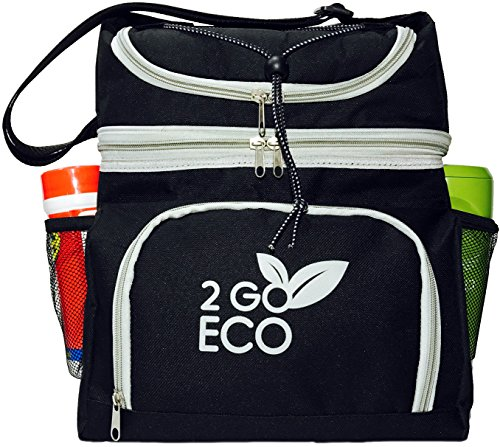 6 pack insulated lunch bag - 2