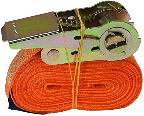 Sangle 6m 500 Dan kg Sangles Cliquet Rochet Sangle /à Cliquet Frais Courroies de Fixation Din en 12195-2 pour Voiture Camion Transports