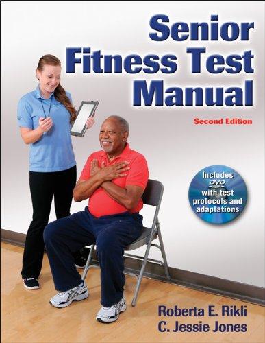 Senior Fitness Test Manual W/Dvd