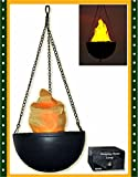 Halloween Accessory Hanging Faux-Flame Electric Lamp