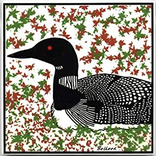 product image for Nesting Loon Tile - Wall Plaque - Trivet WL-10A