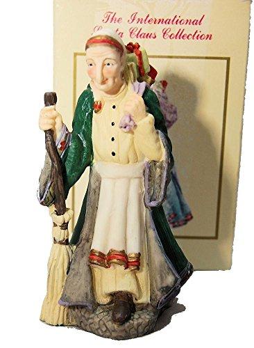 La befana italy holiday figurine international santa