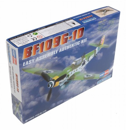 Hobby Boss Bf 109G-10 Airplane Model Building Kit, 1/72 Scale ()