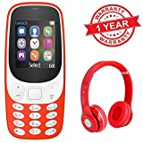 Lambent A3310 Dual Sim Slot Mobile Phone With Camera & Bluetooth Headphone Support iphone Samsung Lava Moto Redmi Note 4