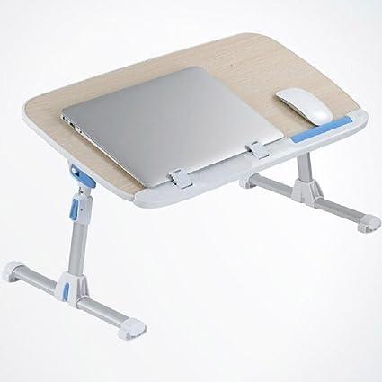 KHSKX Mesa grande de manera fanática, escritorio del ordenador portátil de cama, tabla del