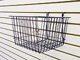 RK-BSK15B Slatwall Accessories basket /6 units
