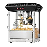 Superior Popcorn Company 4635 Hot and Fresh Countertop Style Popper Machine, 8 oz, Black