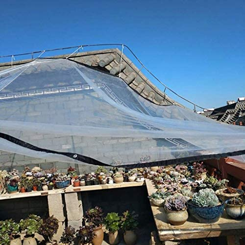 ZT-TTHG 透明ターポリンボードバルコニーの窓のPEプラスチック布防雨防水屋外の肉質、2 * 10メートル