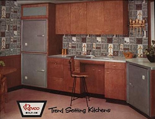Trend Setting Kitchens: 1957 Revco Trade - Trends 50s