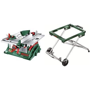 Gut bekannt Bosch Tischkreissäge PTS 10 mit mobilem Untergestell PTA 2000 DE89