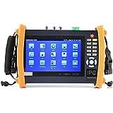 Electop 7 Inch CCTV Tester Onvif IP Camera Tester Touch Screen Monitor AHD,HD-TVI,HD-CVI HDMI 1080P,PTZ Control,POE,WIFI,IP Scan,Port Flashing ET-ADH8600