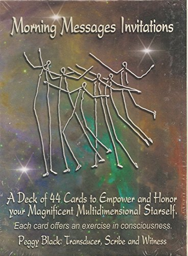 Honor Invitation Card (Morning Messages Invitations . A Deck of 44 Cards to Empower and Honor Your Magnificent Multidimensional Starself By Peggy)