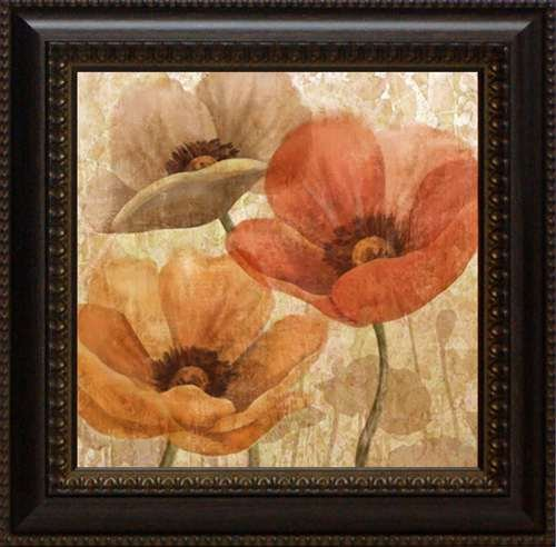 Print Poppy Set Framed - Artistic Reflections Poppy Allure I Framed Art