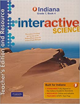 0133163105 on Indiana Interactive Science Grade 6