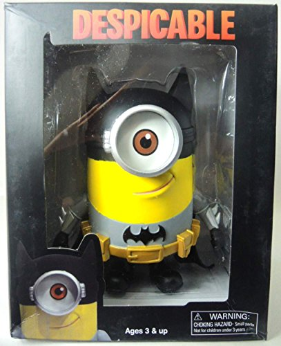 Despicable Me PVC Minion Figure - in Batman costume 7.5 inch