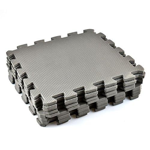 Interlocking EVA Foam Floor Mats And Edges