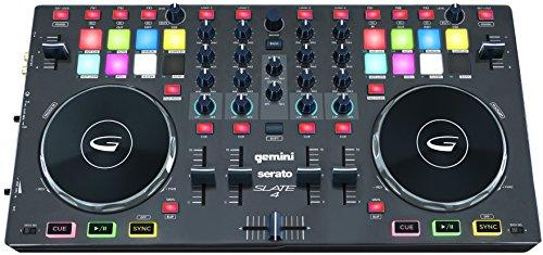 Gemini SLATE 4 Channel Serato Controller