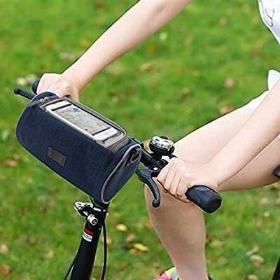 Pard 2016 New Fashion Small Bicycle Handlebar Bag, Multifunctional Oxford Cloth Waterproof Bucket Bag