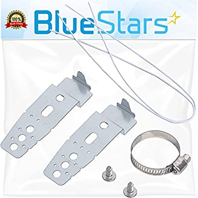 Ultra Durable 5001DD4001A Dishwasher Mounting Brackets Replacement Part by Blue Stars- Exact fit for LG Dishwasher- Replaces PS3525525