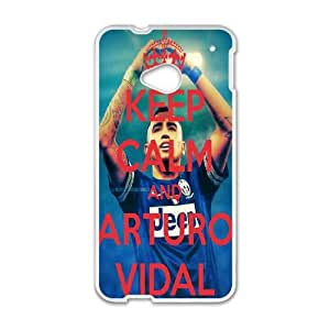 Arturo Vidal For HTC One M7 Csae protection Case DH568617
