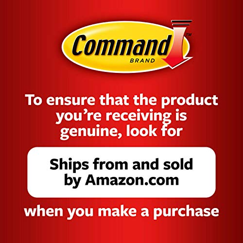Command Small Wire Hooks, 16 hooks, 24 strips, White, Easy to Open Packaging