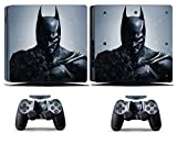Cosines PS4 Slim Stickers Vinyl Decal Protective Console Skins Cover for Sony Playstation 4 Slim and 2 Controllers Super Hero The Dark Knight