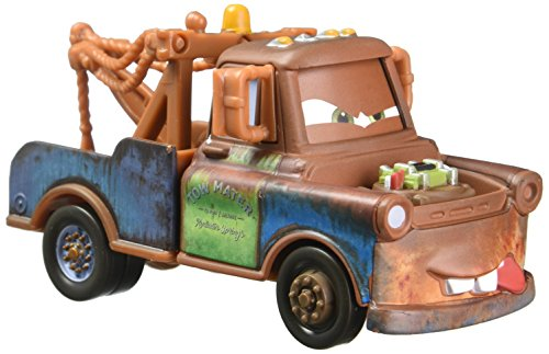 Disney Pixar Cars Fighting Face Mater Die-cast Vehicle