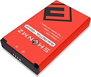 SHENMZ New 4500 mAh Replacement Battery for Novatel Jetpack MiFi 7730L Mobile Hotspot - P/N: 40123117-2 Year Service